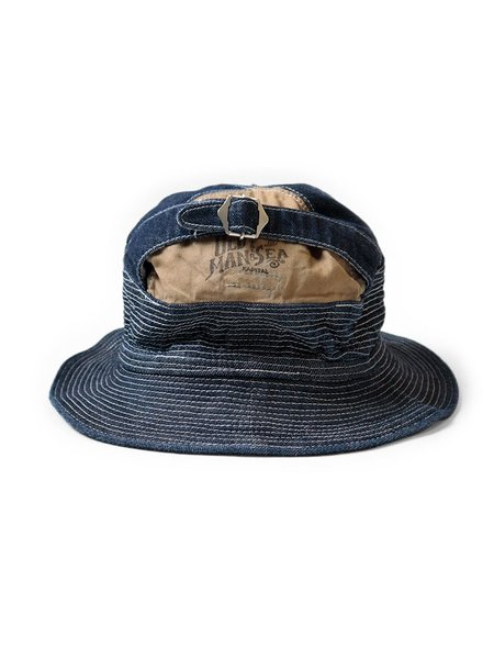 Kapital 11.5oz Denim The Old Man and the Sea Hat - Nou
