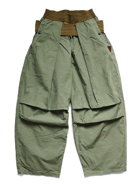 Kapital Dump Cotton ARMY SHIMOKITA Jumbo Pants - Khaki