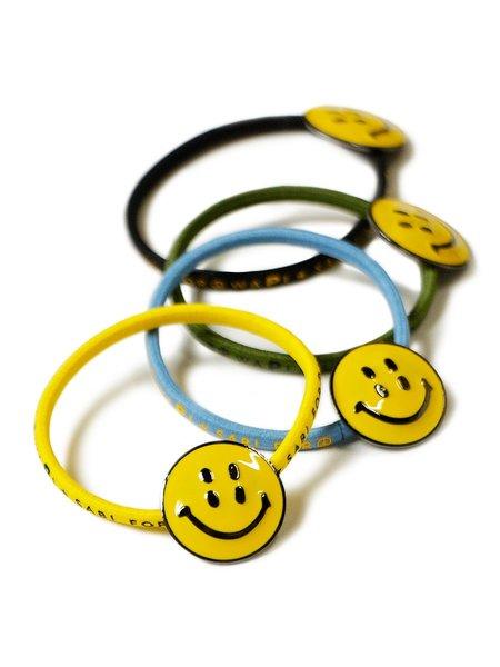 Kapital RAIN SMILIE Concho Hairband - Yellow