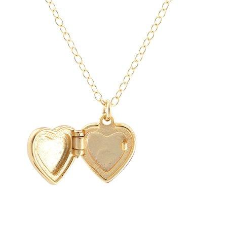 Kris Nations Heart Locket - 18K Gold Vermeil