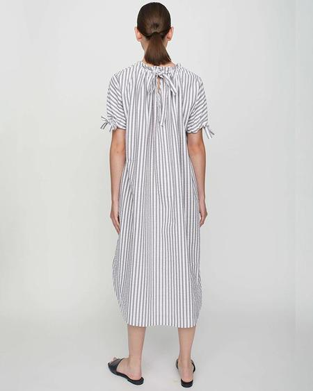 JUST FEMALE Rialto Dress - Pavement Stripe