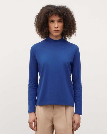 KOWTOW High Neck Top - Bright Blue