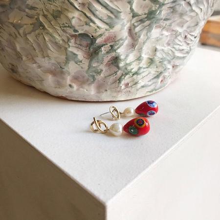 Yam Wainwright Earrings - sterling silver