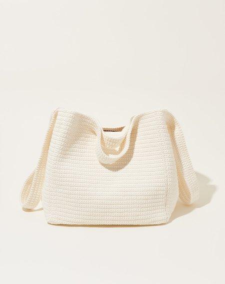 Lauren Manoogian Cube Bag - Chalk
