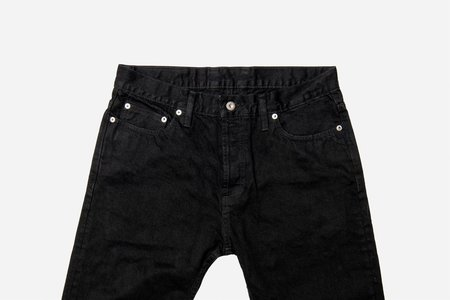 3Sixteen NT-222X Narrow Taper Lightweight Double Jeans - Black