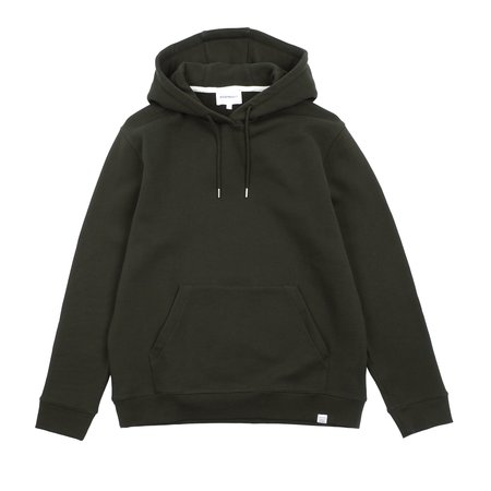 Norse Projects VAGN CLASSIC HOODIE - BEECH GREEN