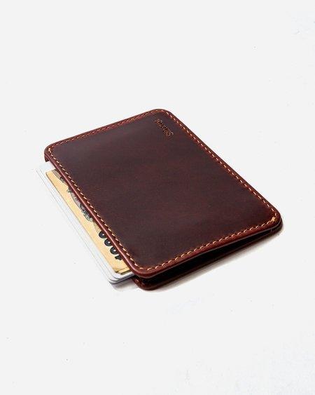 Slimmy R1S2 International 1-Pocket Wallet (83mm) - Oil Tan