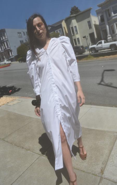 Veronique Leroy Cotton Puff Dress