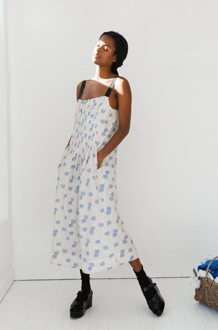 Caron Callahan Virginia Silk Cotton Dress - Shibori