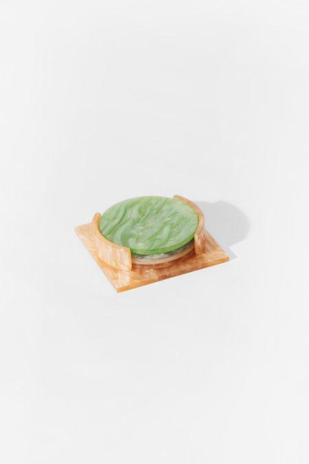 Aeyre Coaster Set - Apricot