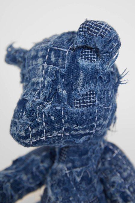 FDMTL Boro Teddy Bear - Indigo