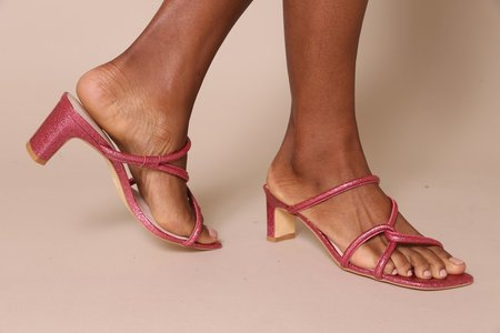 """""""INTENTIONALLY __________."""" Willow sandals - GLITTER MULTI"""