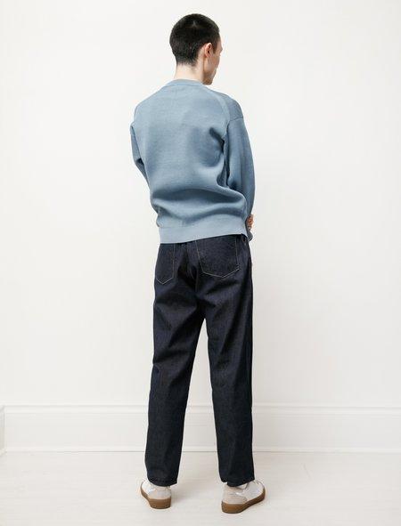 Auralee Hard Twist Light Denim Pants - Indigo