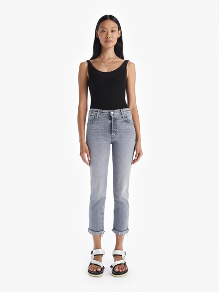 Mother Denim The Scrapper Ankle Jean - Shadows In The Grass