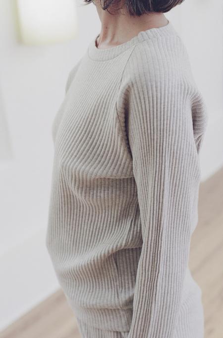 Baserange Basic Sweat - grey melange