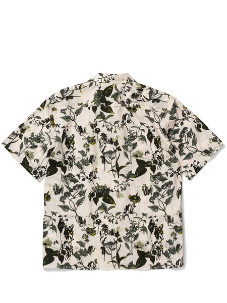 Norse Projects Carston Print Shirt - Ecru