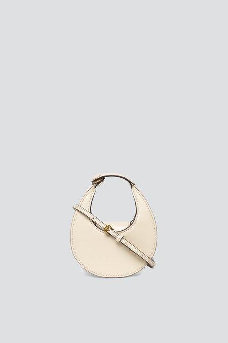 Staud Micro Moon Bag - Cream