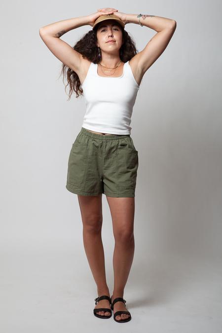 Gravel & Gold Hay Shorts - Juniper