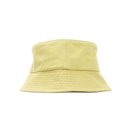 Norse Projects TWILL BUCKET HAT - CHARTREUSE GREEN