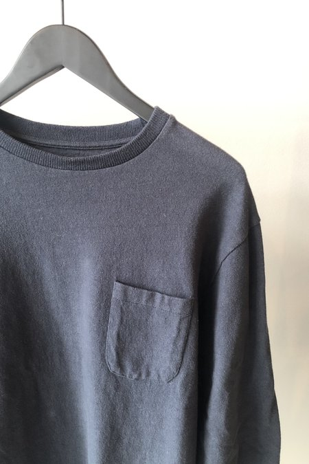 La Paz Duarte Long Sleeve T Shirt - Navy