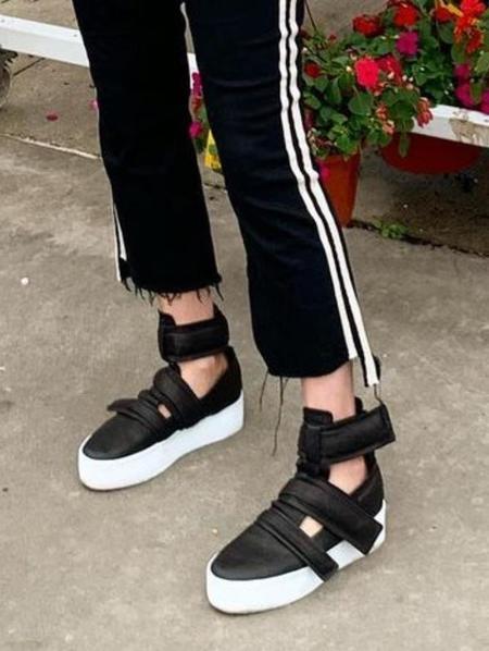 Puro Undercut Sneaker - Black