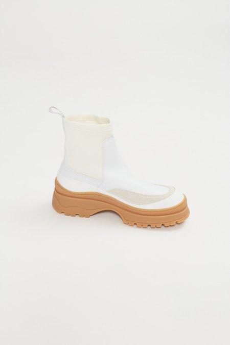 Rachel Comey Barla Nappa Leather Boot - White