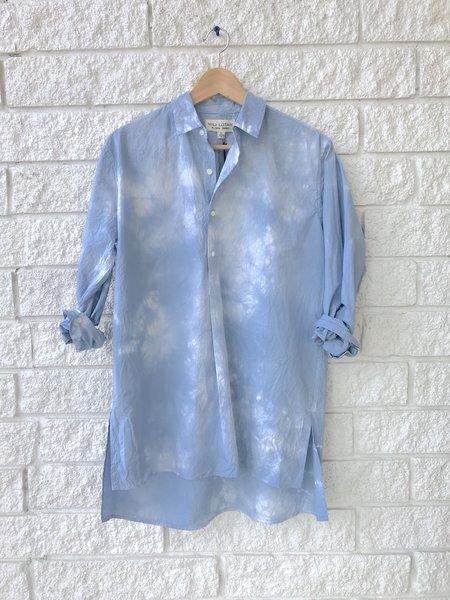 Nili Lotan Ambrose Tunic - Light Blue Tie Dye