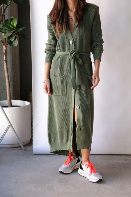 Ser.o.ya Amanda Sweater Dress - Olive