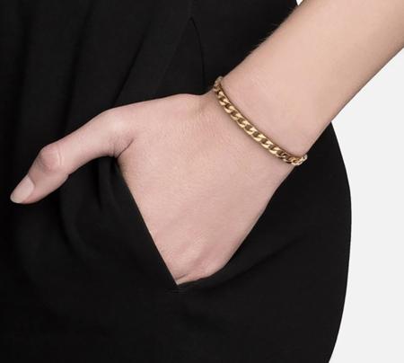 Miansai Cuban Chain Bracelet - 14k Yellow Gold