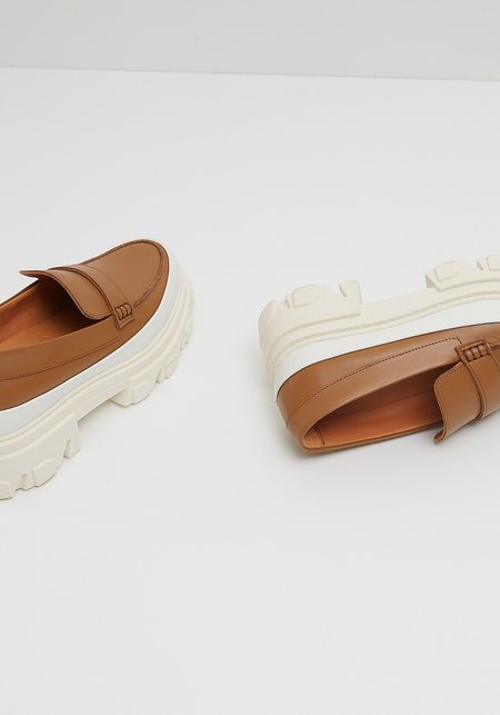 Ganni Calf Leather Chunky Loafer