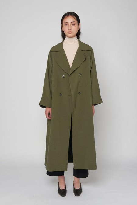 Limb The Label Margot Coat - Khaki