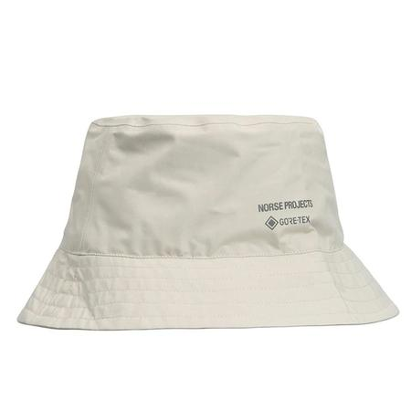 Norse Projects Gore Tex Bucket Hat - Kit White