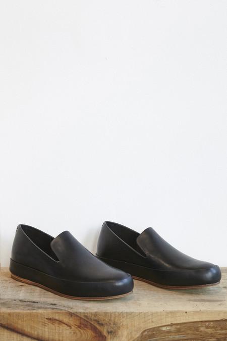 FEIT Hand Sewn Slipper in Black