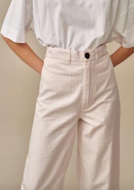 Bellerose Lotan Pant - Lilac Check