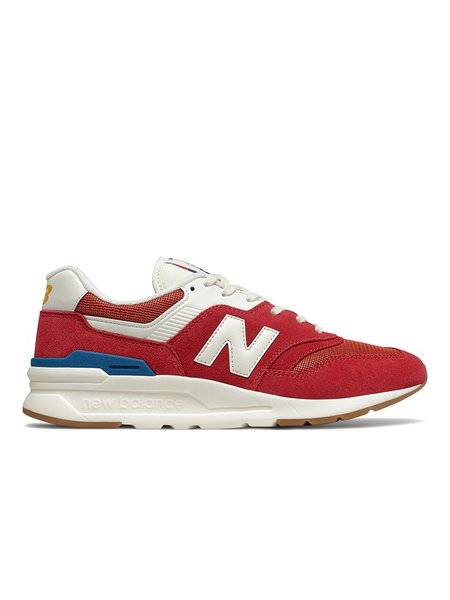 New Balance 997H Sneakers - Team Red/Varsity Gold