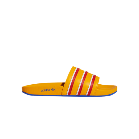 adidas x Eric Emanuel Adilette00 H02574 shoes - Yellow/Blue/Red