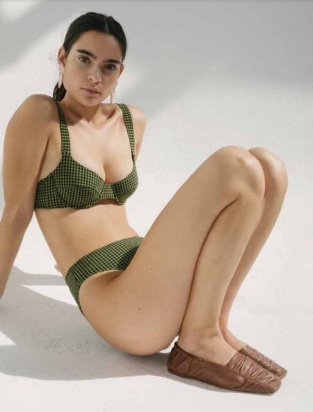 Pale Swimwear Petra Underwire Bikini Top - Pistachio