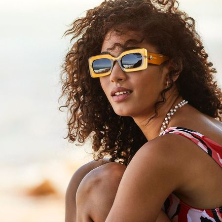 Le Specs OH DAMN! eyewear - GOLD SHIMMER