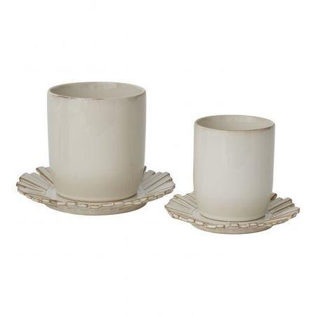 Accent Decor Lily Pad Pots