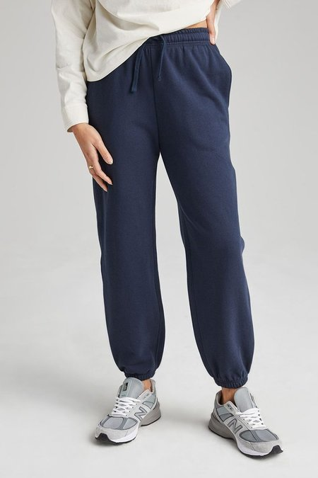 Richer Poorer Recycled Fleece Sweatpants - Blue Nights