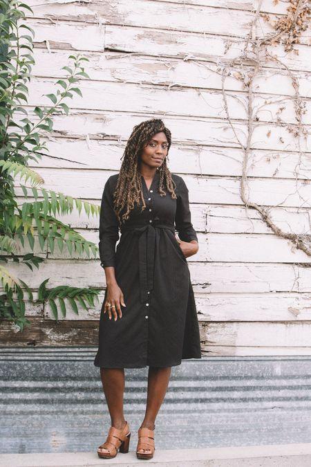 Field Day Vera Dress - Black Embroidery