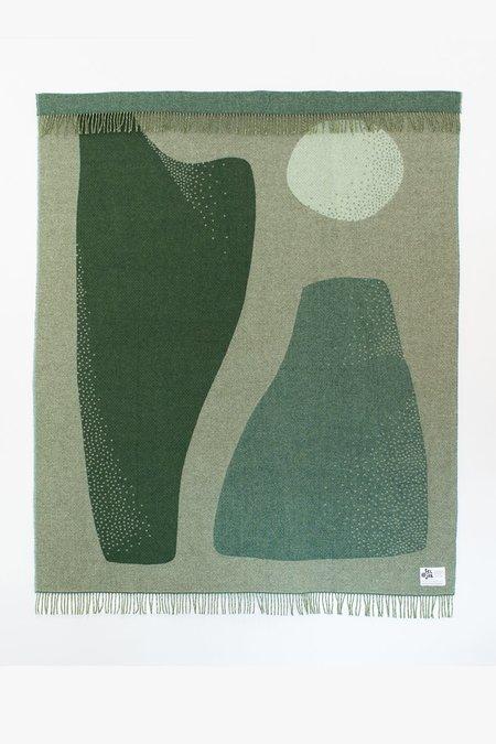 Seljak Pyramid Blanket - Green