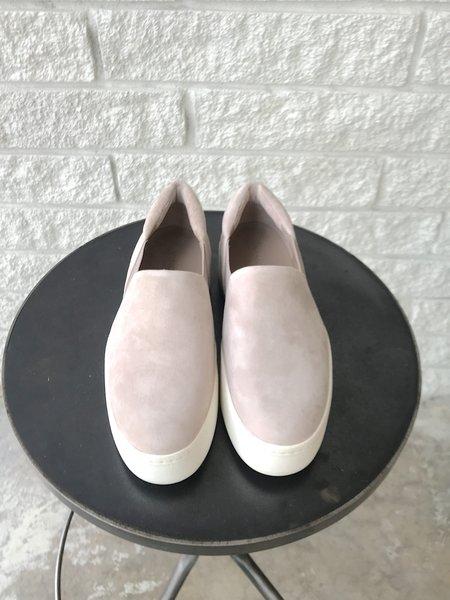VINCE WARREN SUEDE sneakers - PEARL
