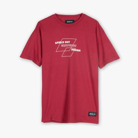 afield out Fortress T-shirt - Maroon