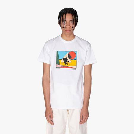 Book Works Let's Cool One T-shirt - White