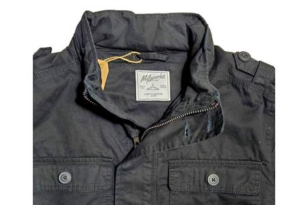 Milworks Field Jacket - Black