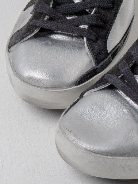 Golden Goose Superstar Laminated Sneakers
