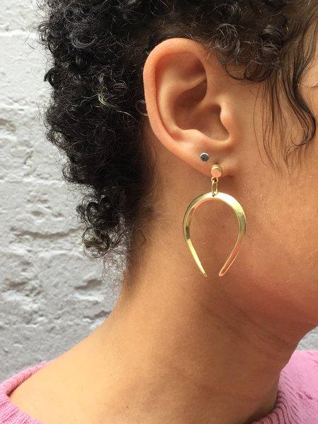 Mercurial NYC Libra Earrings - Gold