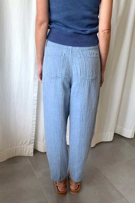 Closed Pearl Pants - Light Blue