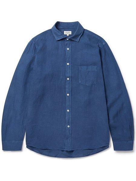 Hartford Paul Linen Shirt - Denim